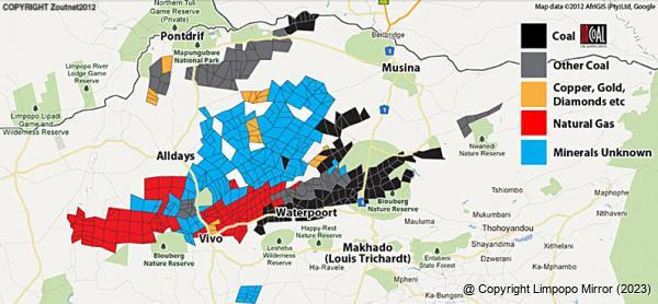 Image result for soutpansberg coal mines